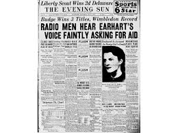 will the search for amelia earhart ever end history smithsonian earhart s fate was front page news then an irresistible mystery to researchers corbis