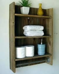 rustic bar shelves rustic reclaimed wood 3 tier bathroom shelf with towel bar shelves bar rustic