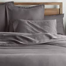 gray linen duvet cover queen