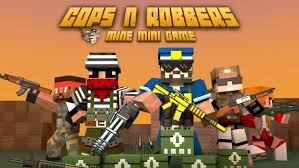 cops n robbers is a shooting game with attractive graphics like minecraft