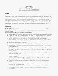 Copywriter Resume Template Best of Copywriting Cv Template New Copywriter Resume Sample Customdraperies