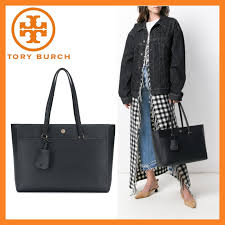 tory burch plain leather totes robinson
