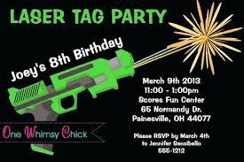 Free Laser Tag Invitation Template Laser Tag Birthday Invitations Invitation Templates Free Template