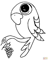 Parrots coloring pages | Free Coloring Pages