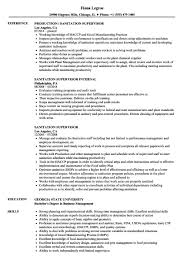 Supervisor Resume Sample Supervisory Experience Resume Free Sample Sanitation Supervisor 49