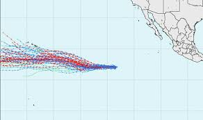 Hurricane Hector Spaghetti Models Shows Hawaii Big Island