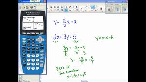 finding x y intercepts with calculator you graphing calculator solve for x you