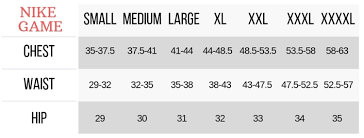 69 Unexpected Nike Nfl Jersey Fitting Chart