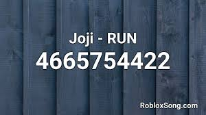 We have also includes some surprise and character ids for you. Joji Run Roblox Id Roblox Music Code Youtube