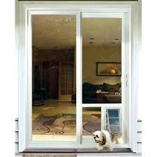patio door with pet door built in medium size of cat door home depot pet door