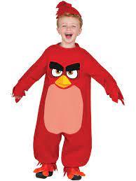 Angry Birds Movie - Red Bird Costume for Toddler - Walmart.com - Walmart.com