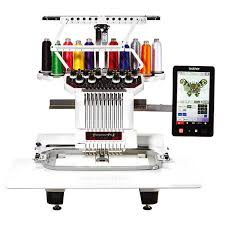 Brother Embroidery Machine Design Software Brother Pr1050x 10 Needle Commercial Embroidery Machine