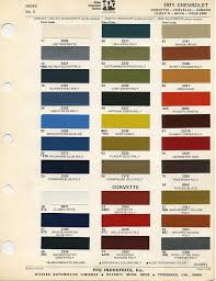 69 Camaro Color Chart 78 Prototypic 1966 Chevy Truck Color Chart