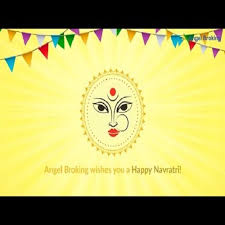 happy navratri from angel broking open