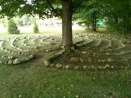 Small Picture The labyrinth at the Chautauqua Institution lies partly in shade