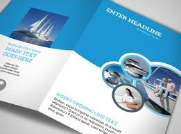 Pamplet Templates Two Fold Brochure Template Bi Fold Brochure Design Templates Two