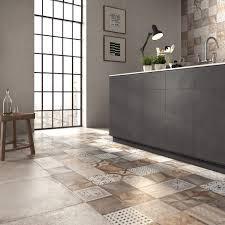 Porcelain stoneware wall floor tiles UNIKA by ABK Industrie