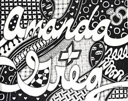 Cool Designs To Draw Your Name Name Designs