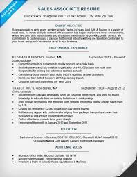 Sales Associate Resume Sample Writing Tips Resume Companion Cool Resume For Sales Associate