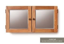 baumhaus mobel oak bathroom mirrored