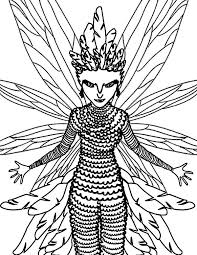 toothiana the tooth fairy from rise of the guardians coloring pages