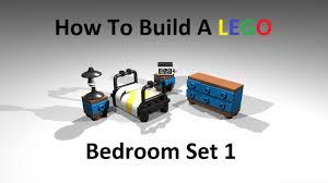 Lego Bedroom How To Build A Lego Bedroom Set Type 1 Custom Moc Instructions