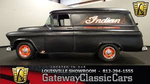 1956 Chevrolet Panel Truck - Louisville Showroom - Stock # 1129 ...