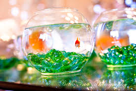 Goldfish Bowl Decorations Creative Centerpieces One Fishbowl Six Different Uses Budget 3