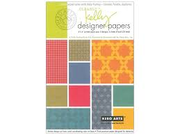 Purkey Tile Designs Hero Arts Clearly Kelly Designer Paper Pad 4 In X 6 In 1