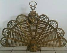 Brass Fireplace Screen | eBay