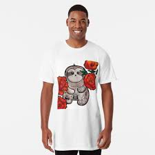 "Cute Sloth - Tattoo"" T-shirt by JJ-Design 