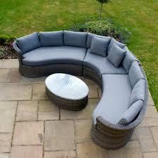 milan corner sofa set grey