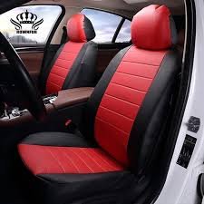 luxury pu leather auto universal 4 color car seat cover