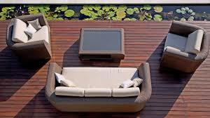 Hd Designs Bali Collection Patio Furniture Outdoor Lounge Sofa Collection Breeze By Bloom Outdoor