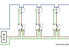 radial circuit light wiring diagram light wiring throughout