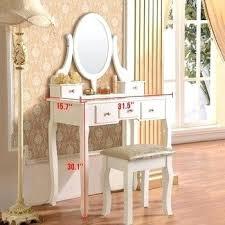 White Bedroom Vanity Dresser With Mirror Ikea Antique Table Classic ...