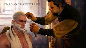 How To Change Hair Style the witcher 3 how to change hairstyles and beards youtube 7605 by wearticles.com