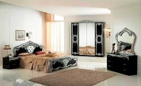 italian white furniture. high gloss black u0026 silver italian bedroom furniture white o