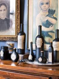 Wine Bottle Halloween Decorations