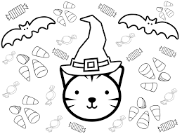 As you can see, we have some really cute printable for your young (and not so young) ones to enjoy over the holidays. Kids Halloween Coloring Pages