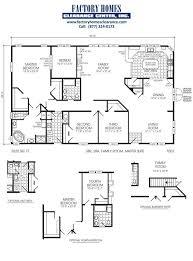 2000 fleetwood mobile home floor plans best manufactured triple