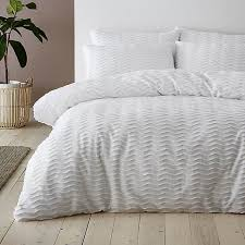 arlo white 100 cotton duvet cover and