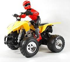 <b>Радиоуправляемая машинка Eztec</b> Monster Whell 4x4 ATV WITH ...