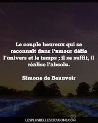 Citation Couple Heureux Citation Damour