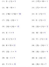 worksheet works solving multi step equations variables on both addition and subtraction worksheets grade 6 subtraction