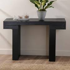 Interesting Black Modern Sofa Table Winsome Extra Long Console For Design Ideas