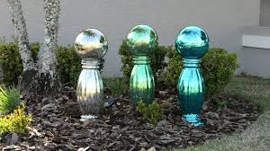 plow hearth mercury glass gazing ball with stand on qvc