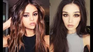 selena gomez smokey eyes inspired makeup