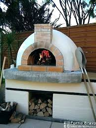 outdoor fireplace and pizza oven combination plans kits with fully assembled combo how to build an fireplace pizza oven outdoor