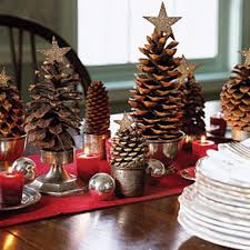 Pine Cone Christmas Decorations Pine Cone Christmas Decor Let It Be Christmas Pinterest